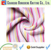 40st yarn dyed stripe interlock