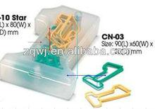One Shape Metal Clip Dispenser Office binding supply, Metal paper clip factory
