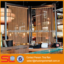 For hotel,office,exhibition center partition decorative metal
