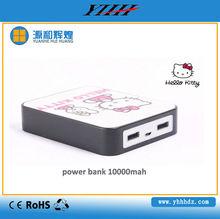 Hello Kitty 10000mah mobile external batteries for smart phone