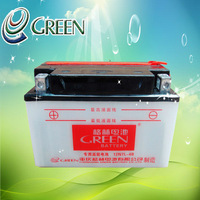 ATTENTION Hot Sale Motorcycle Parts 12V 7Ah Exhaust Type Sealed Rechargeable Dry Battery 12v(12N7L-4B)