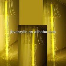Stylish customized large acrylic floor lamp