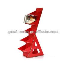 Step Design Cardboard Book Stand Shelf