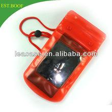 mobile phone PVC beach bag