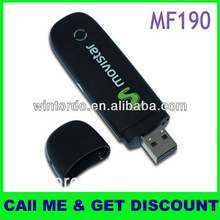 100% Brand New Unlock High Quality ZTE MF190 usb modem
