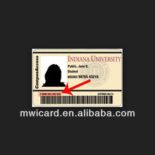 Customized 4C/4C Printing Novelty ID Card