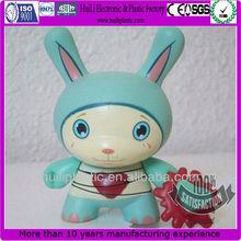 Cute Rabbit Collectible Pvc Figure;Adorable Plastic Anime Pvc Figure;Collection 3D pvc Figure