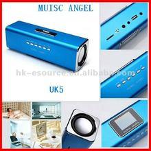 2012 hotsale UK-5 music angel usb mini speaker