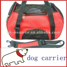 Sports pet carriers for dogs