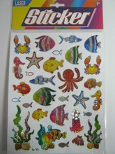 acrylic crystal stickers/mobile phone stickers