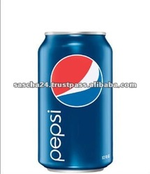 Canned Pepsi Carbonated Cola