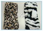 Colored coral fleece elastic headband