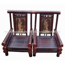 new design bamboo sofa set