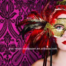 2012 New Special Design European Classic Non-Woven Decorative Wallpaper carta da parati decorazione della casa