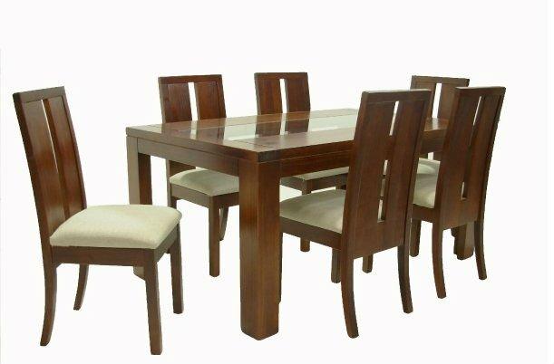 Sillas de comedor de madera sillas de comedor for Sillas madera maciza para comedor