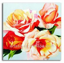 fine art flower oil painting