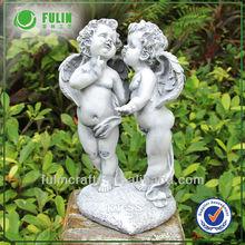 Garden Decorative Handmade Angel Polyresin Figurine