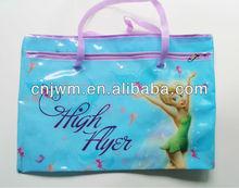 [NEW MODEL]PVC packaging bag with cmyk printing pvc handbag pvc zipper bag