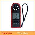 digital de la velocidad del viento anemómetro medidor de color rojo precio