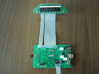 pcb board key car, pcb board key, Car key pcb board for volvo