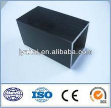 good appearance black anodizing aluminum square hollow tube