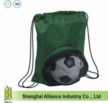 2013 New style volleyball / football /soccer / nylon drawstring back bag
