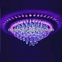 Top grade crystal chandelier purple color