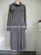 100% merino wool lady fashion office career/ casual dress