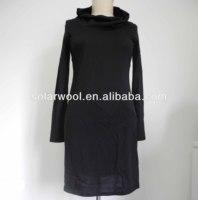 100% merino wool lady fashion office career dress