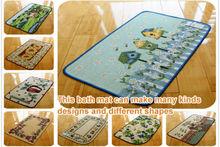 Anti slip rubber door mat