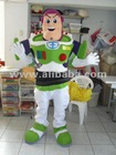 Buzz Lightyear astronaut Monster Elmo Mascot Costume