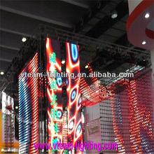 led strip screen,night club led screen P15 flexible led display panels China Supply