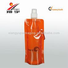 wasser faltbare taschen flaschen wasser standbodenbeutel
