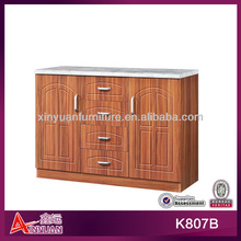 K807B diy modern bathroom wood cabinet