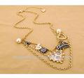 Grande fantasia de cisne, coroa, o amor do coração, arco, os encantos da pérola jóias colares produtos da china