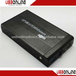 usb3.0 2.5 inch hdd enclosure black