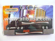 Coke Zero Convoy Truck