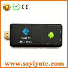 intel atom mini desktop pc Wifi RK3188 Quad Core Mini PC Made in china
