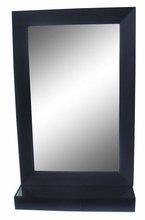 Bathroom TV Mirror With Glass Shelf