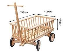 Wooden stroller toys