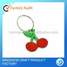 Red cherry key chain / keyring