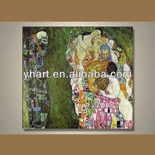 Hot sale Newest sexy back Gustav Klimt art painting for house decor