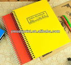 spiral bound student exercise book