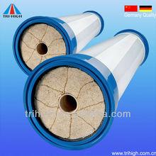 German quality V shape pore in-out 50000dalton cross flow ultrafiltration de membrane 8040 5years lifetime