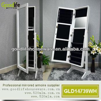 2013 new product mirrored jewelry modern bathrooom cabinet