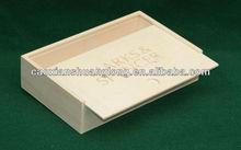 Unfinished Wooden Box Slide Manufacturer/Factory