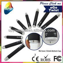 2013 Hot sale hello smoke twist battery or ego c twist starter battery 1100mah