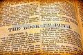 Santa biblia libro inglés
