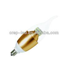4w 6w e12 dorati oro/base in ottone lampadario con ul