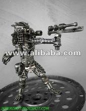 23 cm Mini Metal Hunter : Crossbow (small)